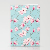 magnolia Stationery Cards featuring Magnolia by EclipseLio