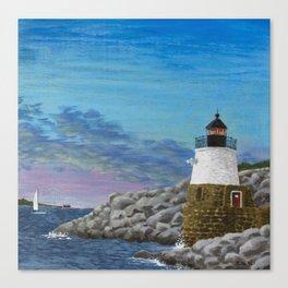 Newport Harbor Lighthouse Canvas Print