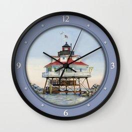 Thomas Point Light Wall Clock