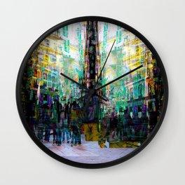 ending up jarred into all too familiar sigh clocks Wall Clock