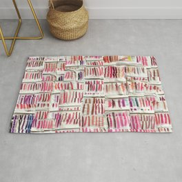 Lipstick Swatches Rug