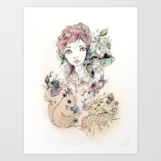 Amigo Art Print