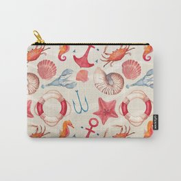Marine Pattern 04 Carry-All Pouch