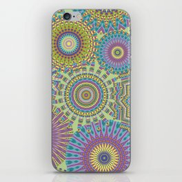 Kaleidoscopic-Jardin colorway iPhone Skin