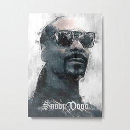 Snoop Dogg sketch Metal Print