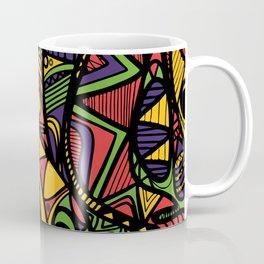 Abstract Fish Coffee Mug
