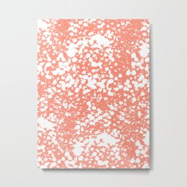 Abstract minima modern painting office dorm college nursery decor canvas art print Metal Print
