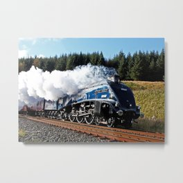 Sir Nigel Gresley Metal Print