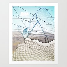 Viagem#3 Art Print