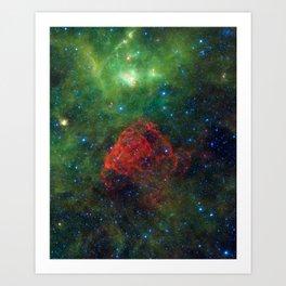 Ancient Supernova Revealed Art Print