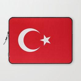Flag of Turkey Laptop Sleeve