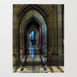 Washington National Cathedral, D.C. Poster