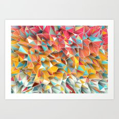 Kaos Summer Art Print