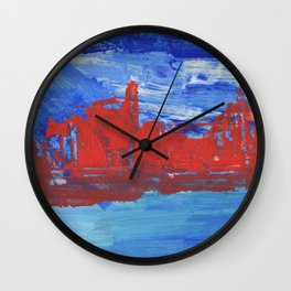 French Riveria Wall Clock