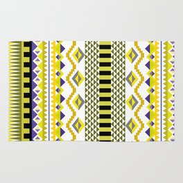Aztec Yellow Rug