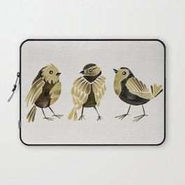 24-Karat Goldfinches Laptop Sleeve