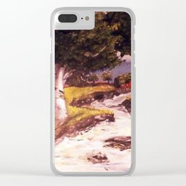 River Flow Clear iPhone Case