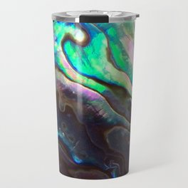 Pearlescent Abalone Shell Travel Mug
