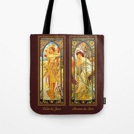 Vintage Art Nouveau - Alphonse Mucha Tote Bag