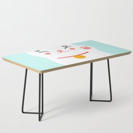 Lucky happy Japanese cat Coffee Table