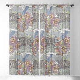 marsh NC silver Sheer Curtain