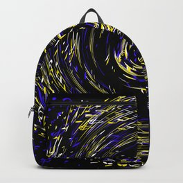 Hurricane ..Team colors blue /yellow Backpack