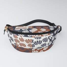Patched Abstract Floral III Fanny Pack