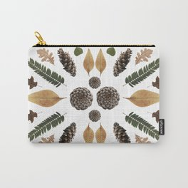 Woods Collage Carry-All Pouch