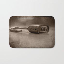 Locked Bath Mat