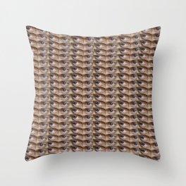 Steve Buscemi's Eyes Tiled Throw Pillow
