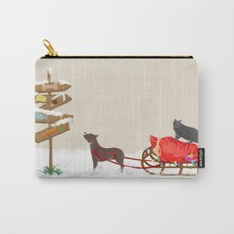Santa's Express Carry-All Pouch