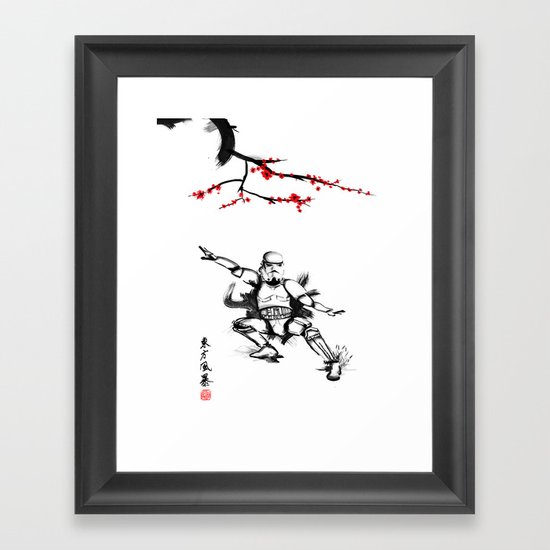Eastern Storm Framed Art Print