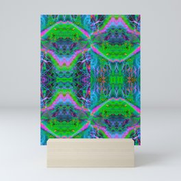 Techno Electric II (Ultraviolet) Mini Art Print