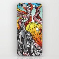 Kraken the Mountain iPhone & iPod Skin