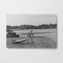 Going Out To Sea Metal Print