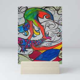 Jumping Fish  #Society6   #decor #buyart Mini Art Print