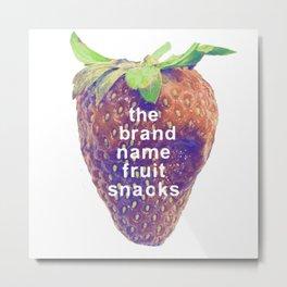 The Brand-Name Fruit Snacks Metal Print