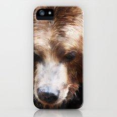 Bear // Gold iPhone (5, 5s) Slim Case