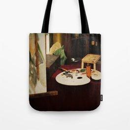 Painter's Desk Tote Bag