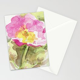 Wild Summer Rose Stationery Cards