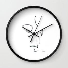 Demeter Moji d5 3-2 w Wall Clock