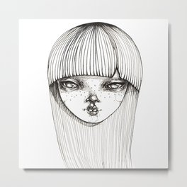 This is her Metal Print