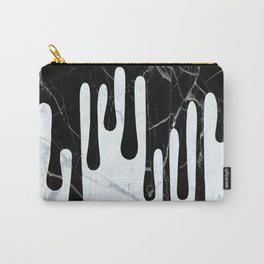 Marble Dripping Carry-All Pouch