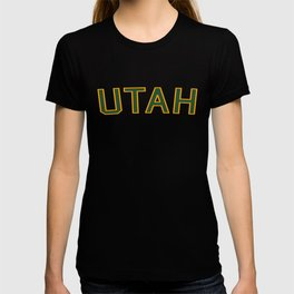 Utah Sports College Font T-shirt