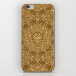 Christmas Gold iPhone Skin