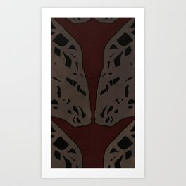 Coronary Contemporary 5 Art Print