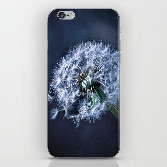 Dandelion Blues iPhone & iPod Skin