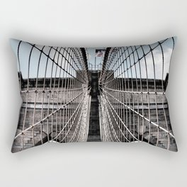 Iron Strung - Brooklyn Bridge Rectangular Pillow