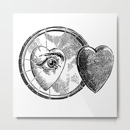Coeur Metal Print