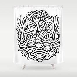Swamp Anger Shower Curtain